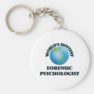 World's Hottest Forensic Psychologist Key Chains