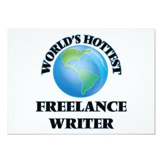World's Hottest Freelance Writer Custom Announcements