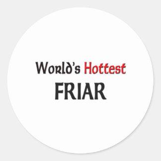 Worlds Hottest Friar Sticker