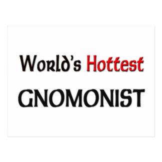 Worlds Hottest Gnomonist Postcard