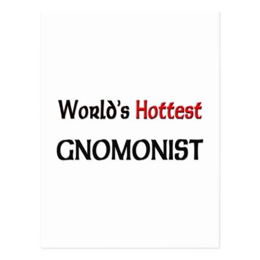 Worlds Hottest Gnomonist Post Card