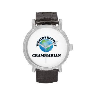 World's Hottest Grammarian Wrist Watch