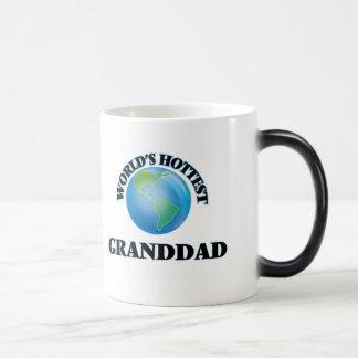 World's Hottest Granddad Coffee Mugs