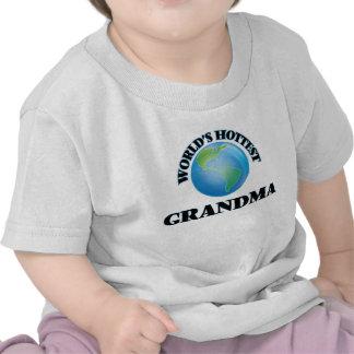 World's Hottest Grandma T-shirts