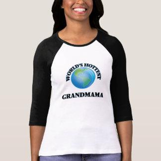 World's Hottest Grandmama T Shirts
