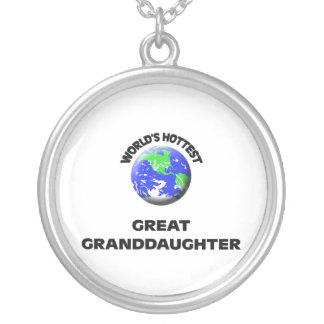 World's Hottest Great Granddaughter Pendants