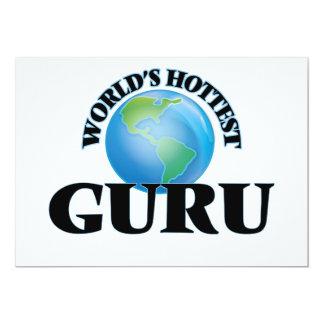 World's Hottest Guru 13 Cm X 18 Cm Invitation Card