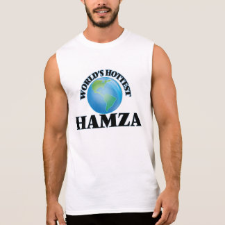 World's Hottest Hamza Sleeveless Tees