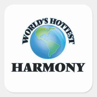 World's Hottest Harmony Stickers