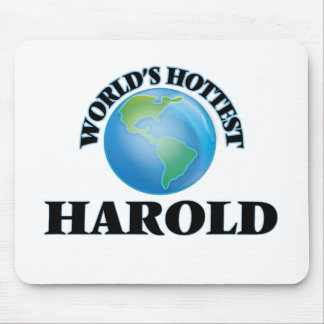 World's Hottest Harold Mouse Pad