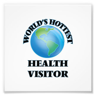 World's Hottest Health Visitor Photographic Print