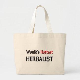 Worlds Hottest Herbalist Jumbo Tote Bag