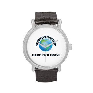 World's Hottest Herpetologist Wristwatch