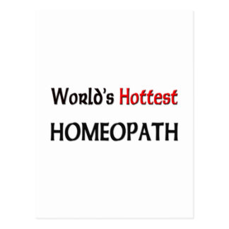 Worlds Hottest Homeopath Postcards