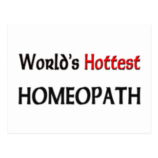 Worlds Hottest Homeopath Postcard