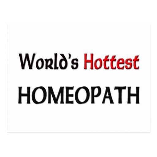 Worlds Hottest Homeopath Postcard