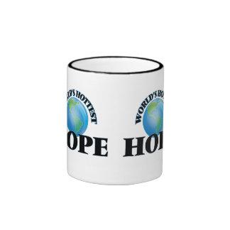 World's Hottest Hope Ringer Mug