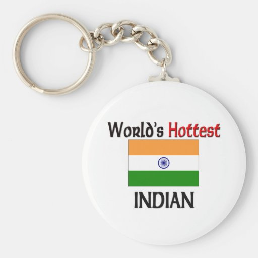 World's Hottest Indian Key Chain