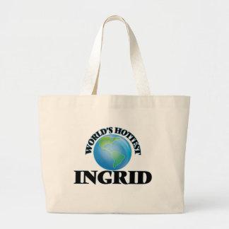 World's Hottest Ingrid Canvas Bag