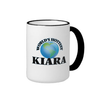 World's Hottest Kiara Coffee Mugs