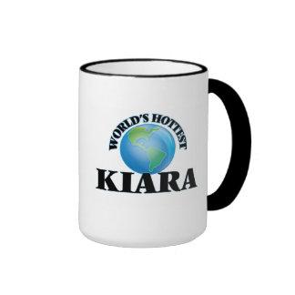 World's Hottest Kiara Ringer Mug