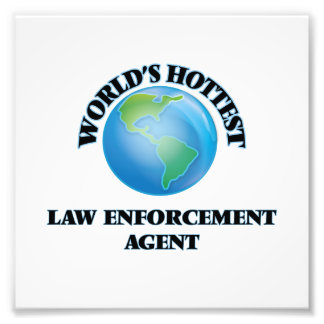 World's Hottest Law Enforcement Agent Photograph