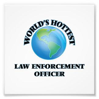 World's Hottest Law Enforcement Officer Art Photo