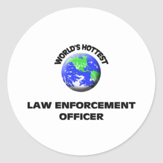 World's Hottest Law Enforcement Officer Sticker