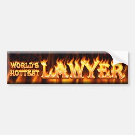 worlds hottest lawyer bumper stickers