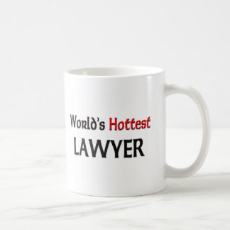 Worlds Hottest Lawyer Coffee Mug