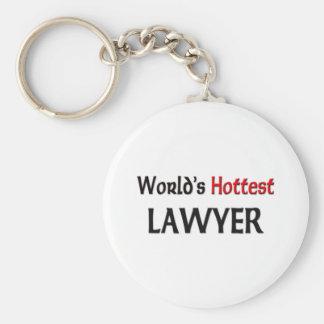 Worlds Hottest Lawyer Key Ring
