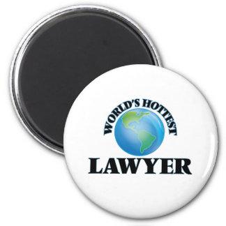 World's Hottest Lawyer Fridge Magnets