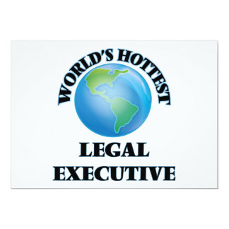 World's Hottest Legal Executive Announcement