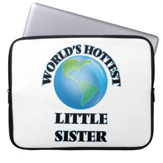 World's Hottest Little Sister Laptop Computer Sleeve