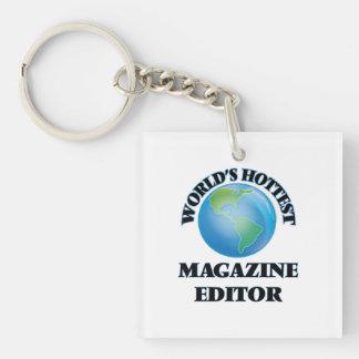 World's Hottest Magazine Editor Acrylic Keychains