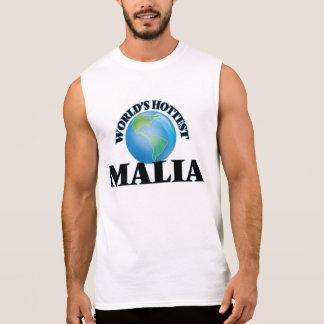 World's Hottest Malia Sleeveless T-shirt