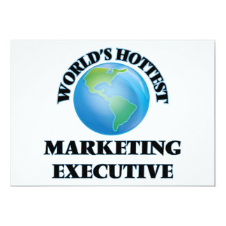 World's Hottest Marketing Executive Personalized Announcement
