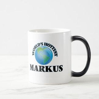 World's Hottest Markus Coffee Mug