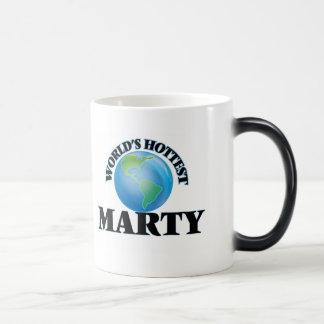 World's Hottest Marty Coffee Mug
