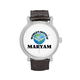 World's Hottest Maryam Wrist Watch