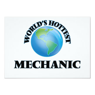 World's Hottest Mechanic Custom Announcement