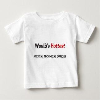 Worlds Hottest Medical Technical Officer Shirt
