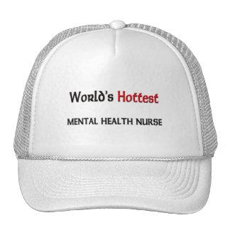 Worlds Hottest Mental Health Nurse Trucker Hats