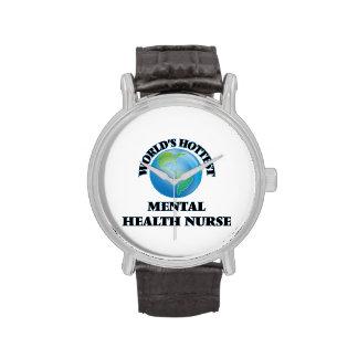World's Hottest Mental Health Nurse Watches