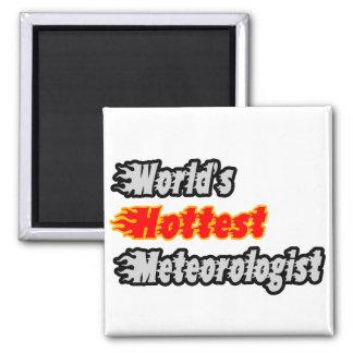 World's Hottest Meteorologist Fridge Magnets