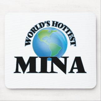 World's Hottest Mina Mousepad