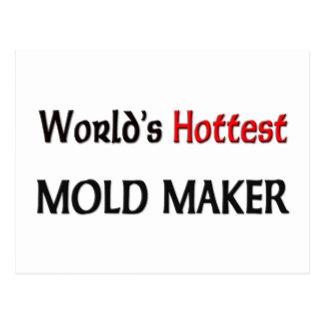 Worlds Hottest Mold Maker Postcard