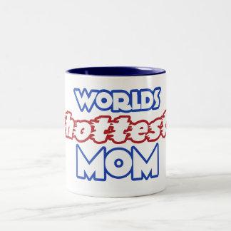 Worlds Hottest Mom Mugs