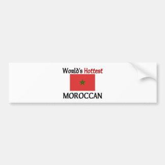 World's Hottest Moroccan Bumper Sticker