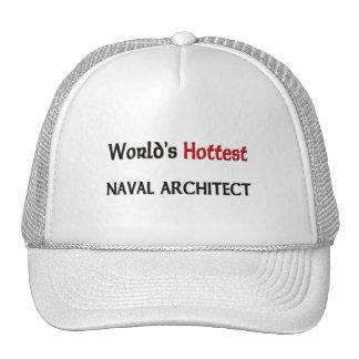 Worlds Hottest Naval Architect Mesh Hats